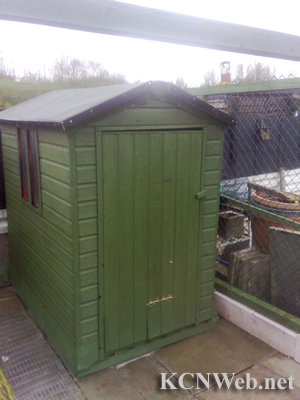 converted garden shed